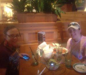 pre-marathon dinner
